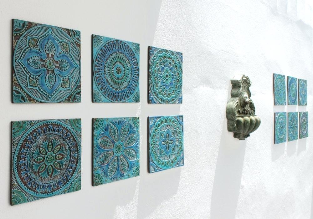 Ceramic Wall Art Cute Ceramic Wall Art Ceramic Wall Art For Bathroom With Ceramic Wall Art (View 3 of 25)