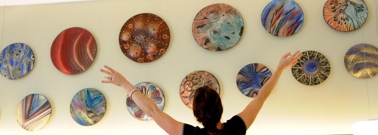 Ceramic Wall Art   Natalie Blake Studios Inside Ceramic Wall Art (Image 3 of 25)