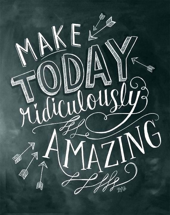 Chalkboard Wall Art – Payges (Image 7 of 25)