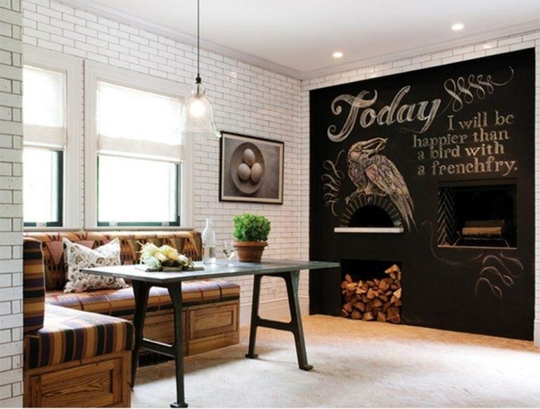 Chalkboard Wall Decor | Gestablishment Home Ideas : Decorative Throughout Chalkboard Wall Art (View 22 of 25)
