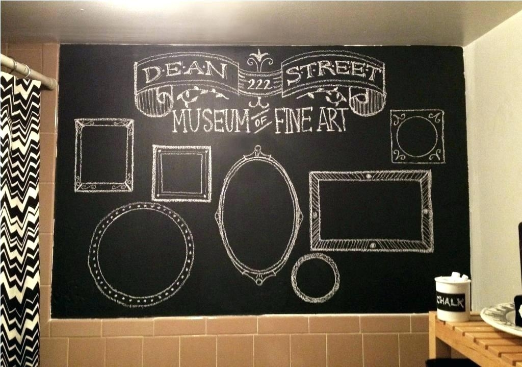 Chalkboard Walls Chalkboard For Wall Kitchen With Chalkboard Wall Within Chalkboard Wall Art (Image 15 of 25)