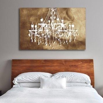 Cheap Chandelier Canvas Art, Find Chandelier Canvas Art Deals On Inside Chandelier Wall Art (Image 6 of 20)