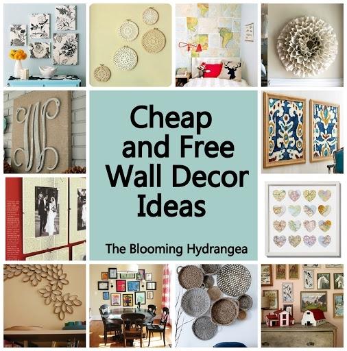 Cheap Wall Decor Ideas 12 Affordable Ideas For Large Wall Decor In Affordable Wall Art (View 3 of 25)