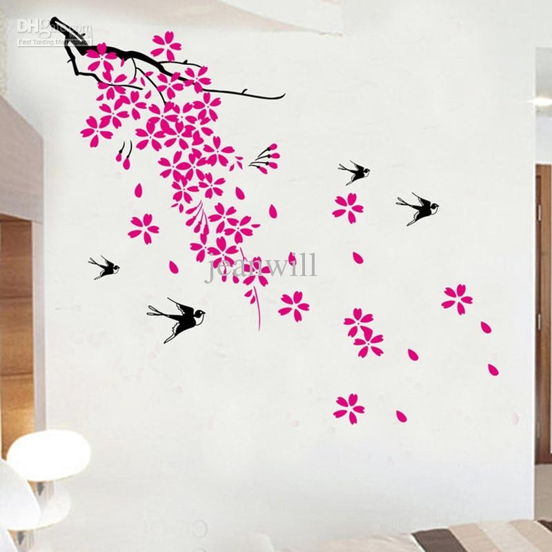 Cherry Blossom Wall Art Pink : Andrews Living Arts – Very Attractive Intended For Cherry Blossom Wall Art (View 17 of 25)
