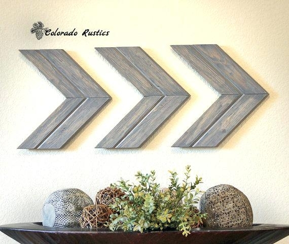Chevron Wall Decor Chevron Vinyl Wall Art – Ripscrabshack (View 8 of 25)