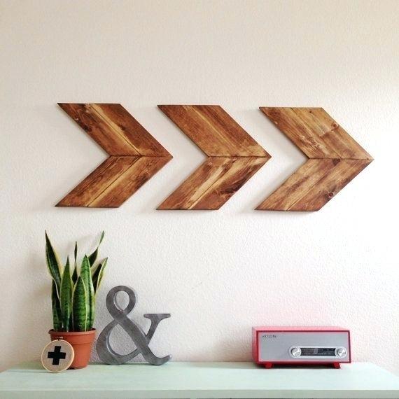 Chevron Wall Decor Chevron Vinyl Wall Art – Ripscrabshack (View 23 of 25)