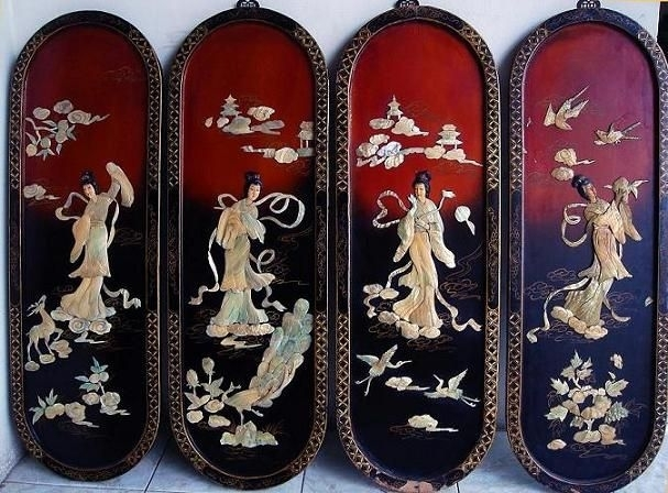 Chinese Wall Art Panels – Go To Chinesefurnitureshop For Even In Chinese Wall Art (View 21 of 25)