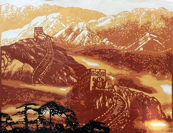 Chinese Wall Art The Great Paper Cutting Painting P – Smartwebmedia (View 20 of 25)