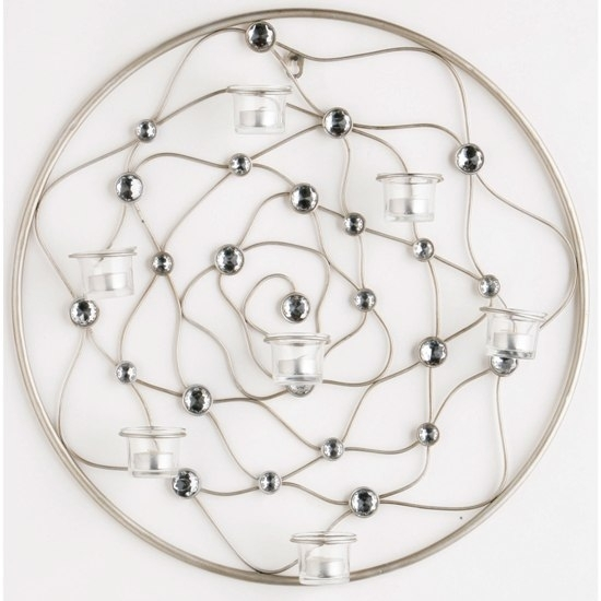 Circular Wire Gem Wall Art, 2800430 4588 Furniture In Inside Wire Wall Art (View 7 of 25)