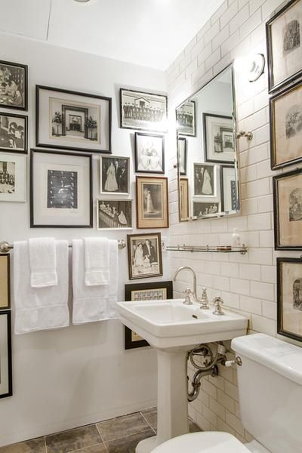 Classic Bathroom Wall Art Decor Regarding Bathroom Wall Art Decors (Image 5 of 10)