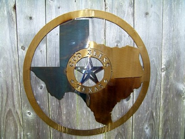 Classic Design About Texas Fabulous Texas Star Wall Decor – Wall Regarding Texas Wall Art (Image 2 of 25)