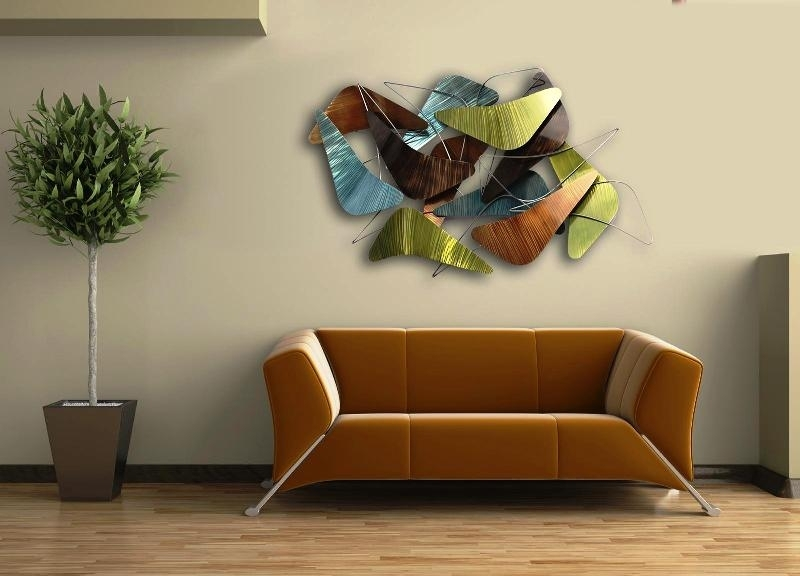 Contemporary Metal Wall Art Decor — Room Decor : Ideas Modern Wall Intended For Contemporary Wall Art Decors (Image 5 of 25)