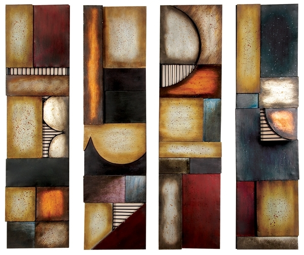 Contemporary Metal Wall Art & Modern Wall Art Decor Inside Contemporary Wall Art Decors (Image 4 of 25)