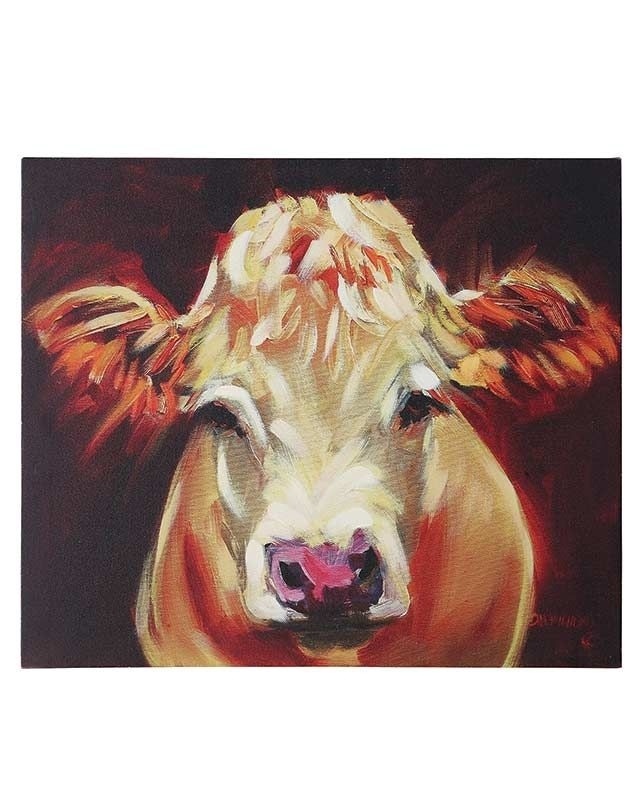 Cow Canvas Wall Artdiane Whitehead – Farm, Ranch, Western Throughout Cow Canvas Wall Art (View 7 of 25)