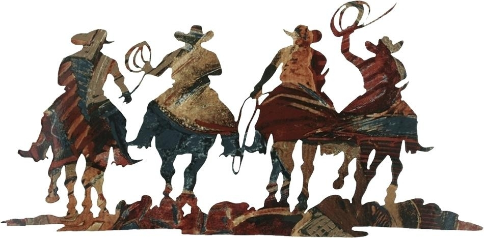 Cowboy Wall Art Cowboy Wall Decor Unique Metal Western Wall Art Within Western Wall Art (Image 8 of 25)
