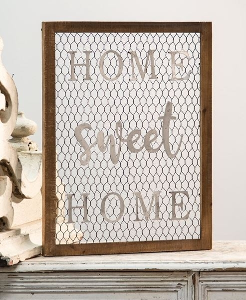Craft House Designs – Wholesale| Framed Chicken Wire Wall Art – Home Intended For Wire Wall Art (View 22 of 25)
