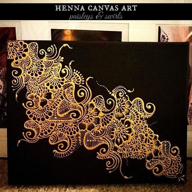 Craftionary Regarding Henna Wall Art (Image 10 of 25)
