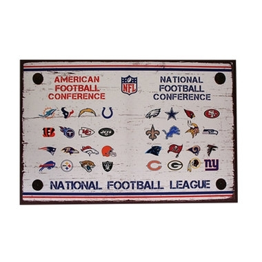 Crafty Inspiration Nfl Wall Art Home Decoration Ideas Nfl Metal With Regard To Nfl Wall Art (Image 3 of 20)