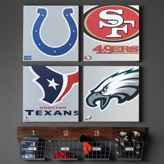 Crafty Inspiration Nfl Wall Art Home Decoration Ideas Nfl Metal Within Nfl Wall Art (Image 4 of 20)