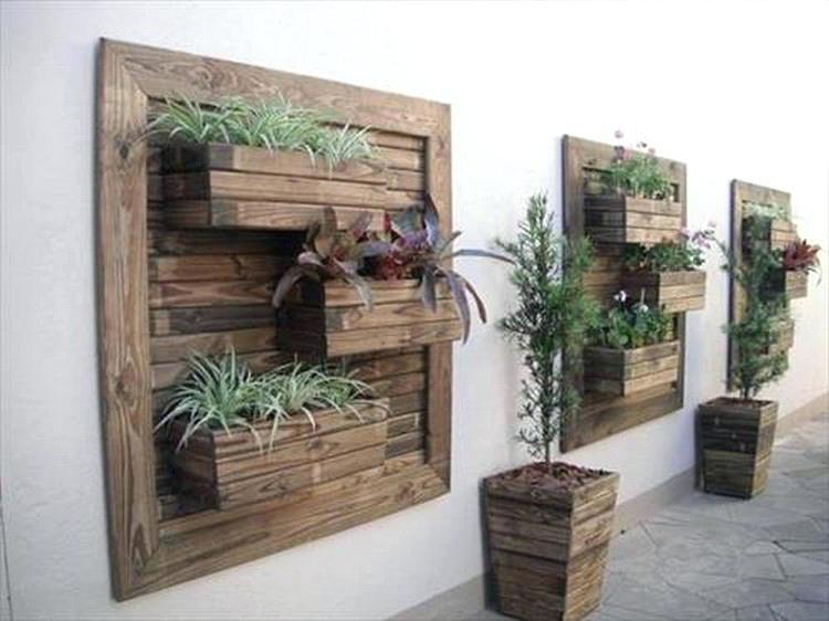 Creative Ideas For Wood Pallets Creative Ideas Wood Pallet Wall For Pallet Wall Art (View 8 of 10)