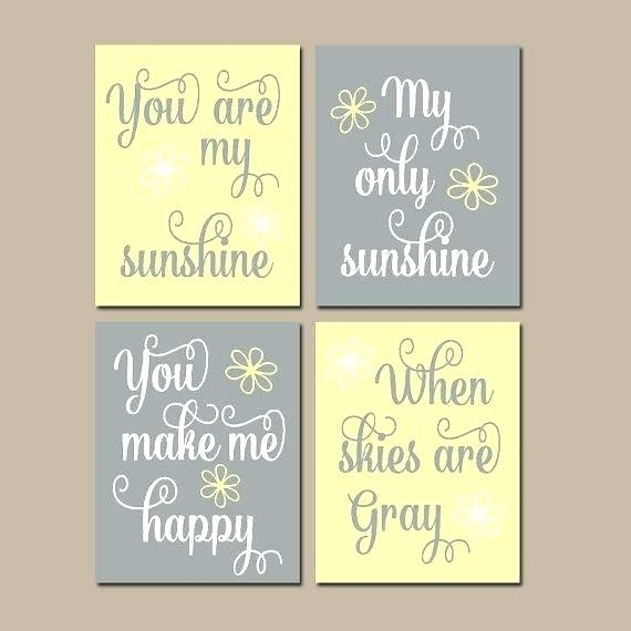 Creative Ideas You Are My Sunshine Wall Art Small Home Decor In You Are My Sunshine Wall Art (View 5 of 10)