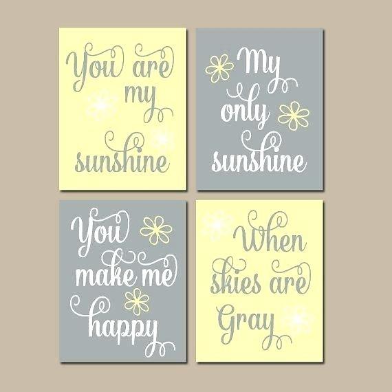 Creative Ideas You Are My Sunshine Wall Art Small Home Decor In You Are My Sunshine Wall Art (Image 3 of 10)
