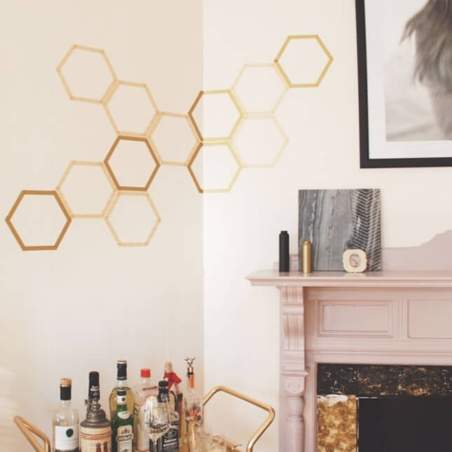 Creative Washi Tape Wall Art Ideas You Should See Within Washi Tape Wall Art (View 7 of 20)