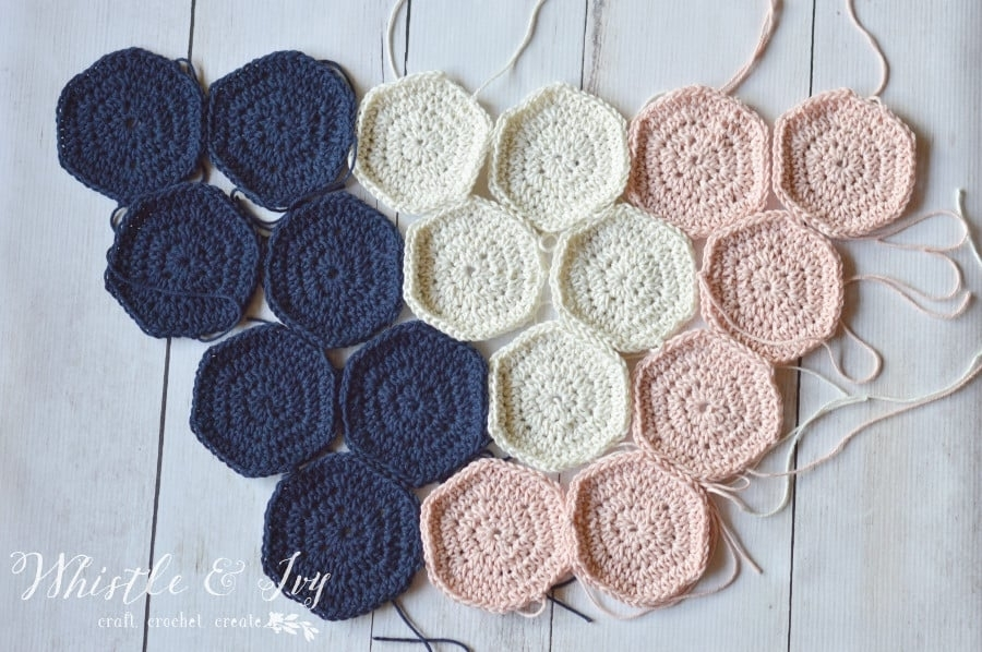 Crochet Hexagon Wall Hanging – Pretty Providence Within Crochet Wall Art (Photo 12 of 20)