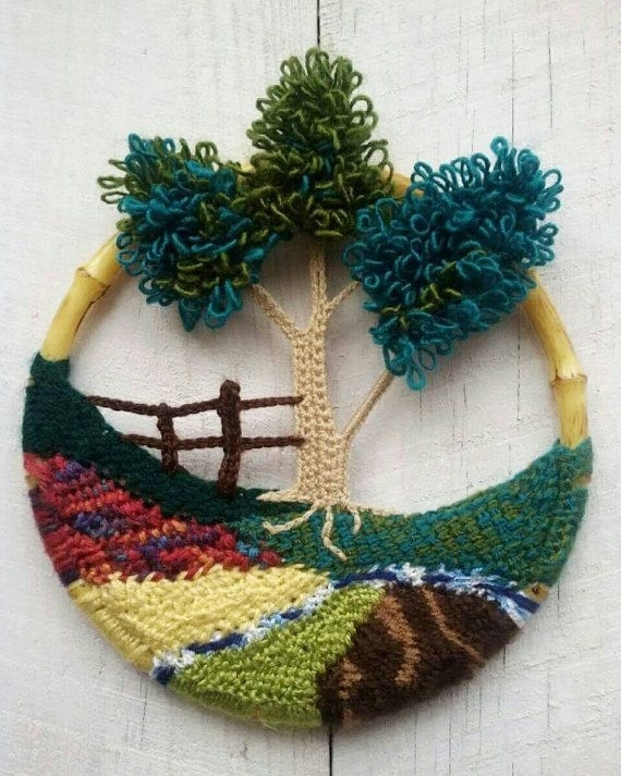 Featured Image of Crochet Wall Art