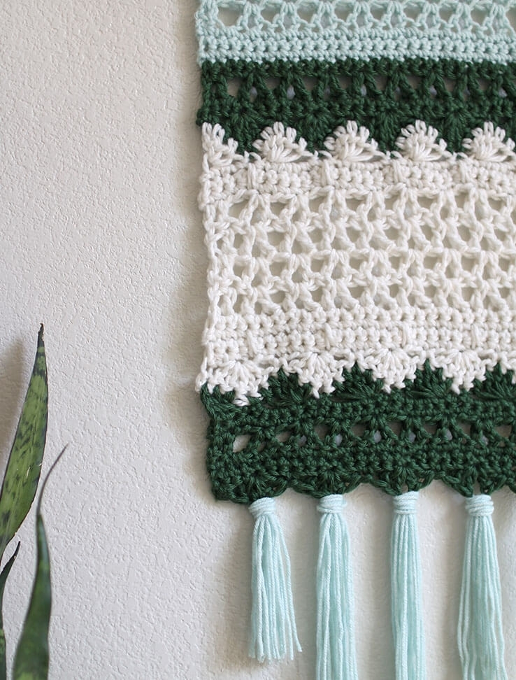 Crochet Wall Hanging Pattern – Persia Lou In Crochet Wall Art (Image 12 of 20)