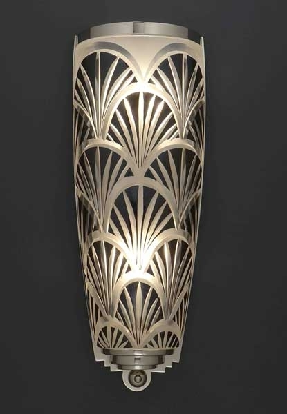 Crystal Nouveau Wall Sconce, Lighting Creation, Franck Benito, Wall Throughout Art Deco Wall Sconces (Image 12 of 25)