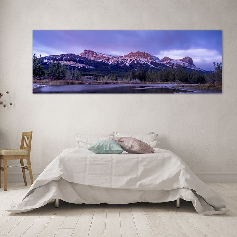 Custom Panoramic Canvas Prints | Panoramic Canvas Art With Your Design With Panoramic Wall Art (View 7 of 10)