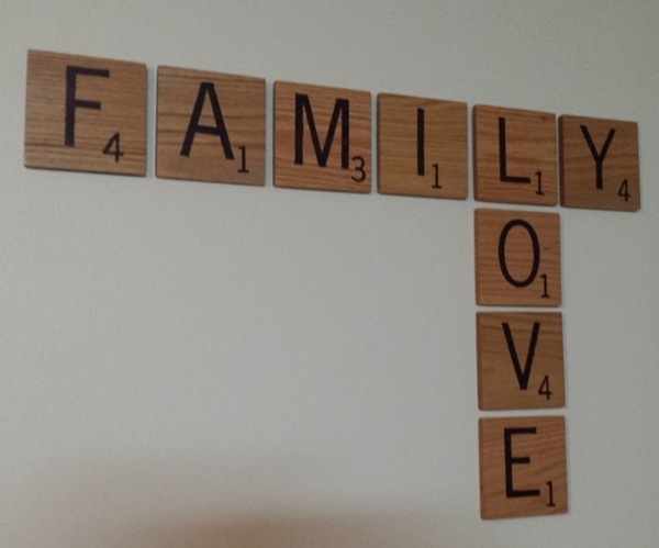 Custom Scrabble Tile Wall Art For Scrabble Wall Art (Image 6 of 25)