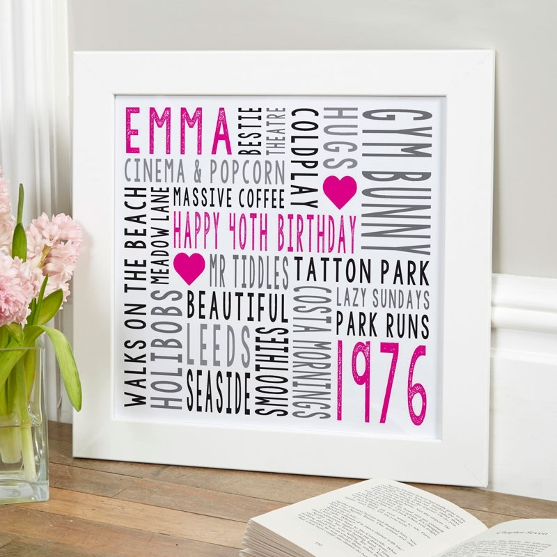Custom Typographic Prints & Canvases | Word Art For Walls With Regard To Word Art For Walls (Image 3 of 20)