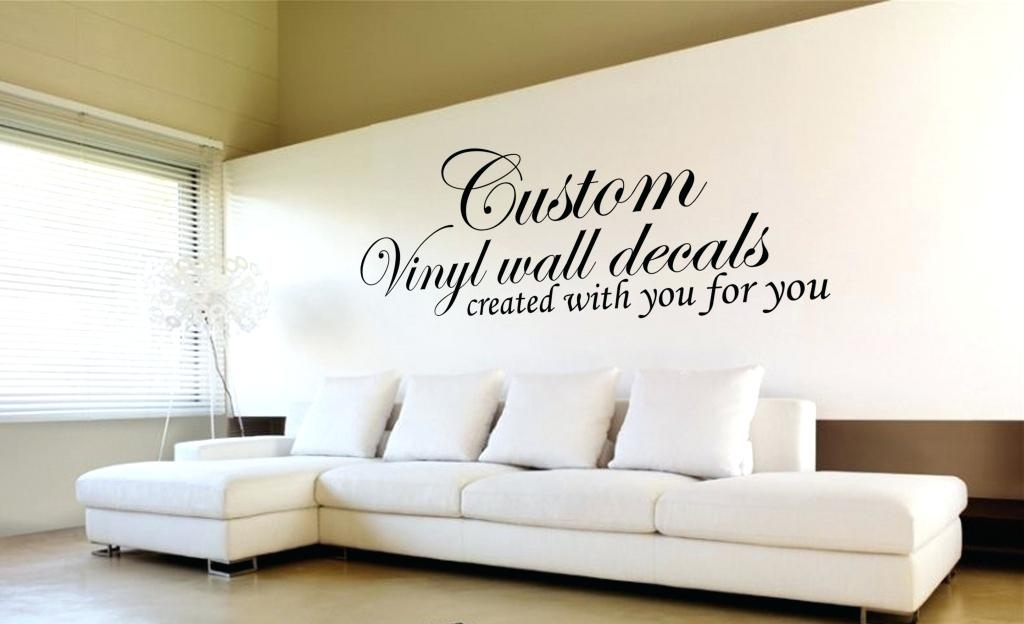Custom Wall Art Decals N Personalized Metal – Luxury Mall Throughout Custom Wall Art (View 11 of 20)