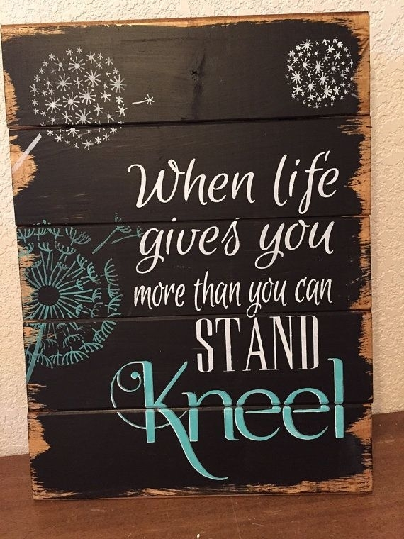 Cute Wall Art Quotes On Wood – Wall Decoration And Wall Art Ideas Regarding Wood Wall Art Quotes (Image 3 of 20)