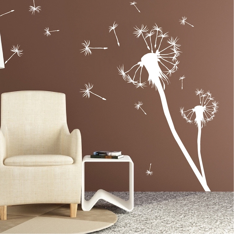 Dandelion Wall Decal Unique Dandelion Wall Decal – Wall Decoration Ideas For Dandelion Wall Art (Image 11 of 25)