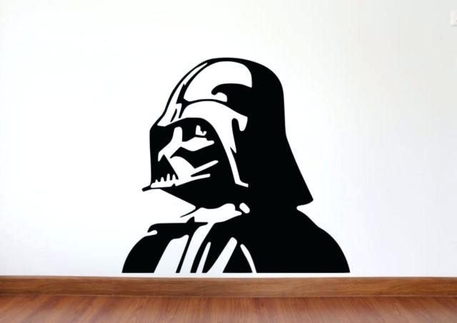 Darth Vader Wall Decal Also Star Wars Wall Decal Star Wars Removable With Regard To Darth Vader Wall Art (Image 10 of 25)