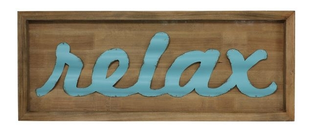 Dazzling Design Relax Wall Art – Ishlepark With Relax Wall Art (Image 4 of 20)