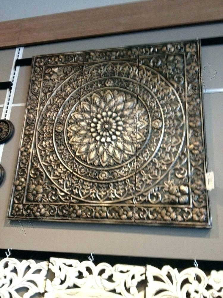 Decor Metal Wall Panels Decor Metal Wall Panels Large Size Of Round Within Wood And Metal Wall Art (Image 4 of 25)