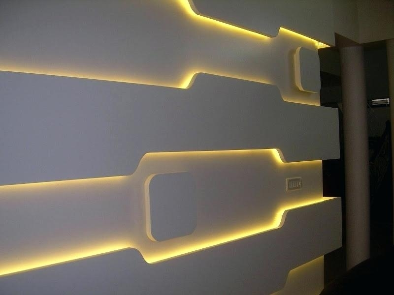Decor Wall Lights These Brilliant Led Wall Mounted Lights Are A Work Pertaining To Led Wall Art (View 17 of 20)
