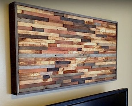 Decorate Your Wall With These Beautiful Wooden Wall Art – Blogbeen With Wooden Wall Art (Image 2 of 10)