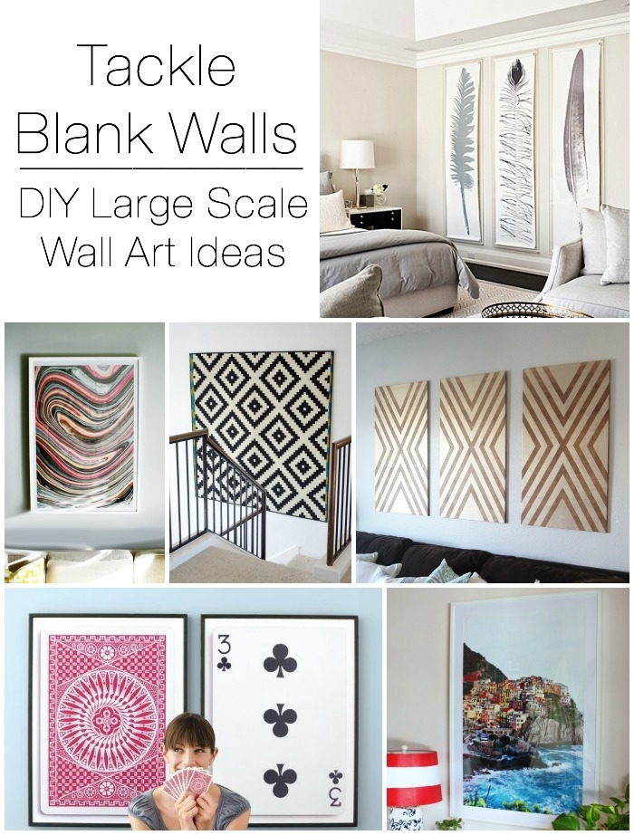 Decorating Large Walls – Large Scale Wall Art Ideas Pertaining To Cheap Large Wall Art (Image 7 of 25)