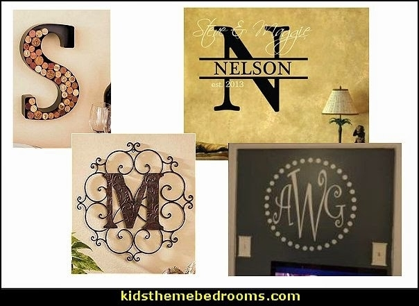 Decorating Theme Bedrooms – Maries Manor: Personalized Decor Throughout Personalized Metal Wall Art (Image 9 of 20)