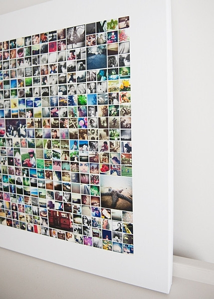 Decorating With Your Instagram Photos :: Wall Art Wednesday~The regarding Instagram Wall Art