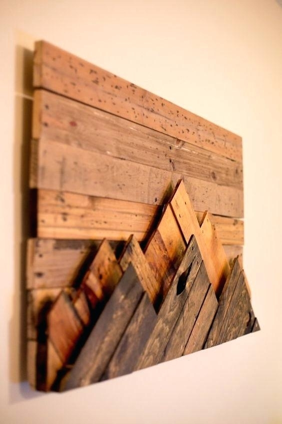 Decoration: Diy Wood Wall Art Decor (View 19 of 25)