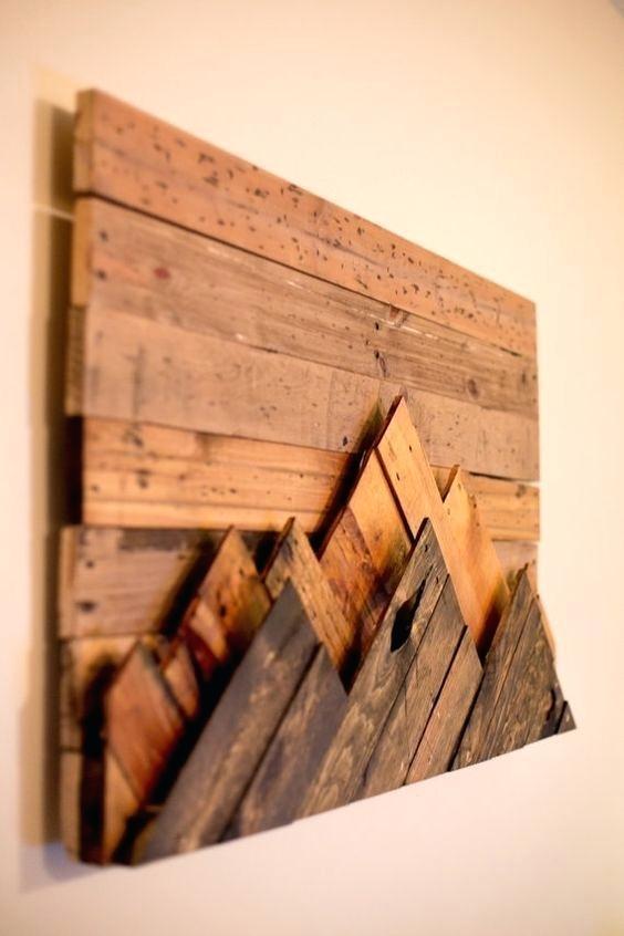 Decoration: Diy Wood Wall Art Decor (Image 11 of 25)