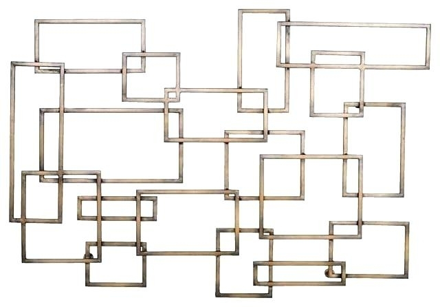 Decoration: Geometric Metal Wall Art Luxury About My Blog With Regard To Geometric Metal Wall Art (View 17 of 25)