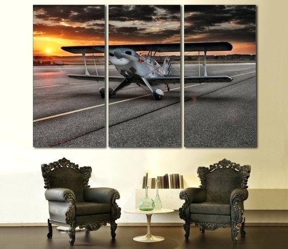 Decoration: Stunning Design Aviation Wall Art Inspiration Ideas Inside Aviation Wall Art (View 9 of 25)