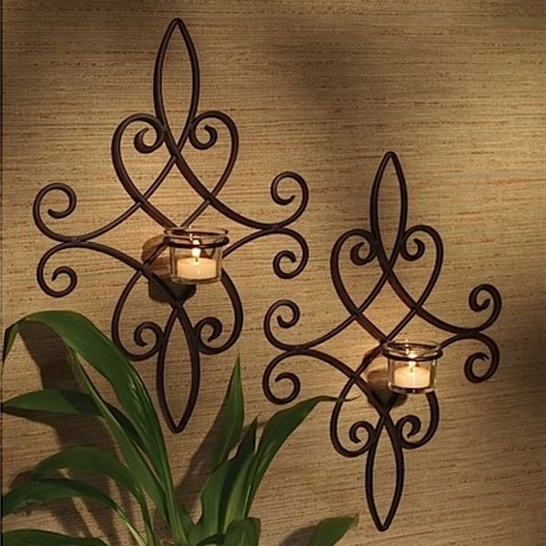 Decorative Wrought Iron Wall Decor And Art – Pickndecor Within Iron Wall Art (Image 2 of 20)